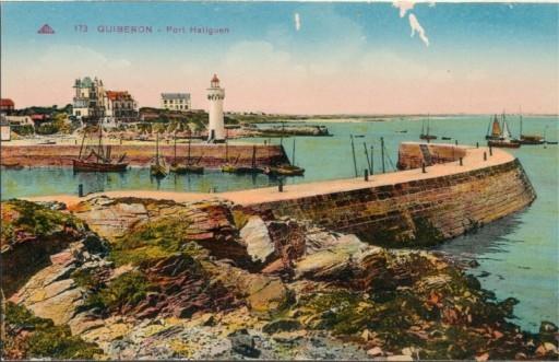 Quiberon vissershaven Bretagne Frankrijk