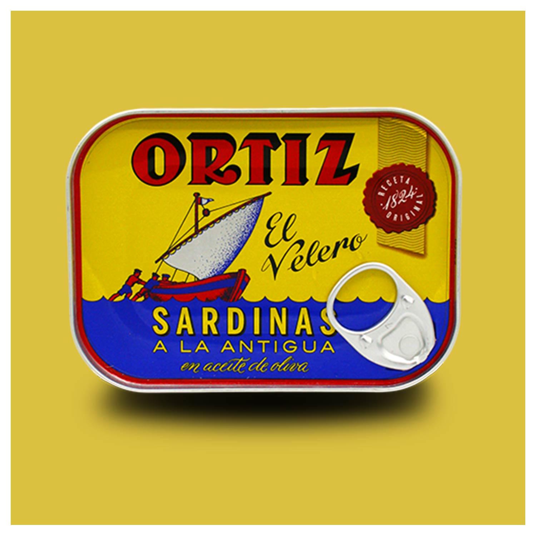 Sardines a la antigua van Ortiz