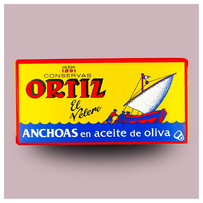 Ansjovisfilet op olijfolie